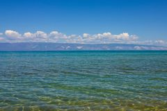 Lago con acqua libera fotografia stock libera da diritti
