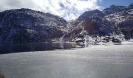 Lago congelado Imagens de Stock Royalty Free