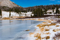 Lago congelado Bellamy Fotografía de archivo libre de regalías