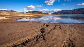 Lago congelado Busko Fotografía de archivo libre de regalías