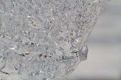 Lago congelado, fundo Fotos de Stock
