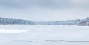Lago congelato immagine stock libera da diritti