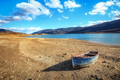 Lago congelato Busko Immagini Stock Libere da Diritti
