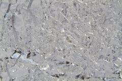 Lago congelato, fondo Fotografia Stock Libera da Diritti