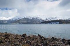 Lago Conguillio Imagenes de archivo