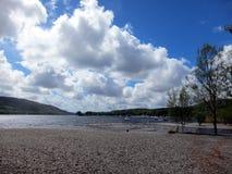 Lago Coniston 1 Foto de archivo libre de regalías