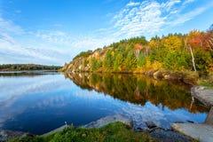Lago conservation em Ontário fotos de stock