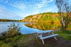 Lago conservation em Ontário imagens de stock royalty free