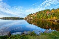 Lago conservation em Ontário foto de stock