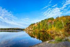 Lago conservation em Ontário imagem de stock