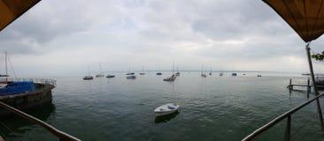 Lago Constance em Alemanha imagem de stock
