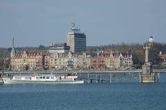 Lago Constance Harbor Fotografía de archivo