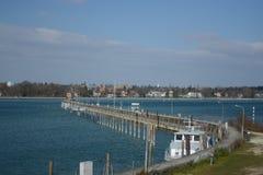 Lago Constance Harbor Imagen de archivo libre de regalías