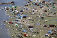 Lago contaminado Imagen de archivo libre de regalías
