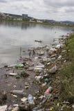 Lago contaminado Imagens de Stock Royalty Free