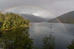 Lago Correntoso in Neuquen Province, Argentina Stock Images