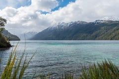 Lago Correntoso in Neuquen-Provinz, Argentinien Stockfotos