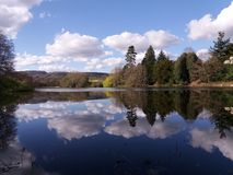 Lago court de Wiltley Imagem de Stock Royalty Free