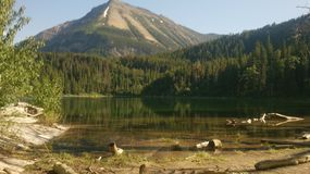Lago Crandell Fotografia Stock