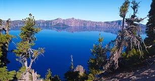 Lago crater Imagens de Stock