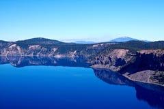 Lago crater Fotos de Stock Royalty Free