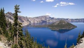 Lago crater Foto de Stock Royalty Free