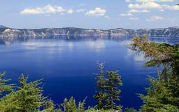 Lago crater Fotografía de archivo