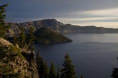 Lago crater Imagem de Stock Royalty Free