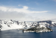 Lago crater Fotografia de Stock Royalty Free