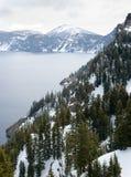 Lago crater fotografie stock