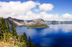 Lago crater, Oregon Fotografia de Stock