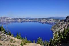 Lago crater, Oregon Foto de archivo libre de regalías