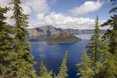 Lago crater, Oregon Immagini Stock
