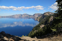 Lago crater, Oregon Imagen de archivo libre de regalías