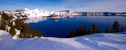 Lago crater, Oregon Fotos de Stock Royalty Free