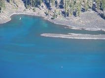 Lago crater, vista #102 Imagens de Stock Royalty Free