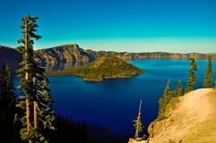 Lago Crator Imagenes de archivo