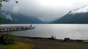 Lago crescent foto de archivo libre de regalías