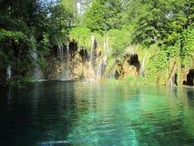 Lago croatian del jezera de Plitvicka Imagen de archivo libre de regalías