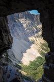 Lago crypt no parque nacional de Waterton, Alberta, Canadá Imagem de Stock Royalty Free
