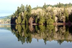Lago Cultus Fotos de Stock