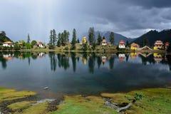 Lago Cuoka Fotos de archivo