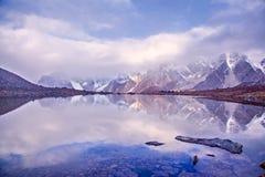 Lago CuoxueRenma Immagini Stock Libere da Diritti