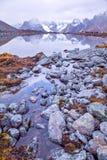 Lago CuoxueRenma Fotografie Stock Libere da Diritti