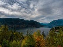 Lago Cushman foto de archivo libre de regalías