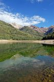 Lago d'argento Fotografie Stock Libere da Diritti