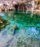 Lago d'attaccatura Immagine Stock