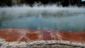 Lago d'ebollizione Fotografia Stock