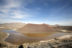Lago da cratera de Meke Fotos de Stock Royalty Free