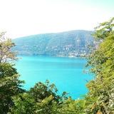 Lago da fortaleza no golfo de Boko-Kotorsky imagens de stock royalty free